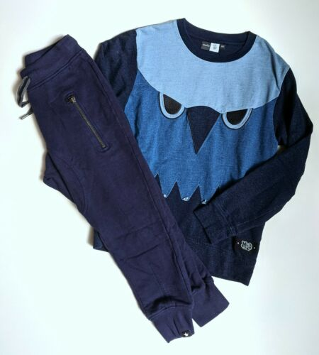 MOLO Boys 128-140 (8-10) Pullover Sweatshirt Joggers Pants Lot DGR1-26