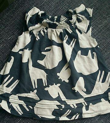 6-9 months girl cute giraffe summer dress from NEXT - Next Giraffe Dress