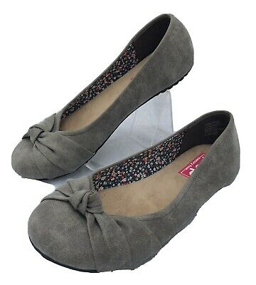 POP - Memory Foam - Ballerinas - Shoes - Flats - Gray - Sz 8.5