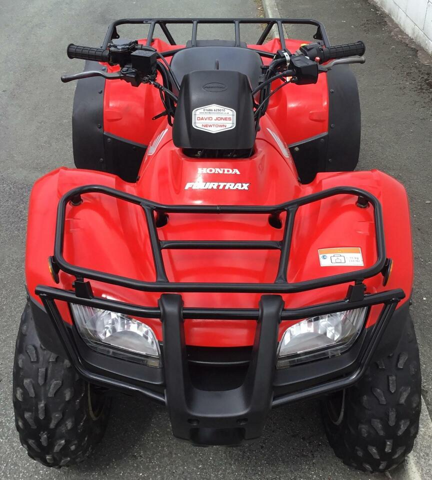 2014 HONDA TRX250 TM 4x2 MANUAL FOURTRAX 2WD QUAD BIKE ATV FOUR WHEELER! YM'13