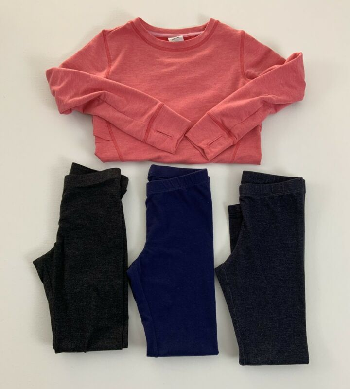 Girls Clothing Lot Size Small 6 Legging Pants Sweatshirt Old Navy Cat & Jack