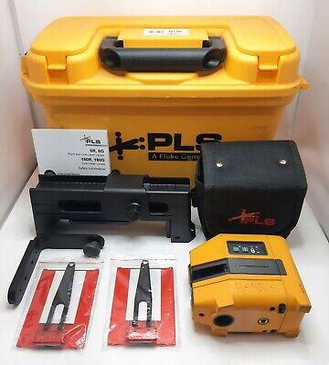 Fluke Pls 6r Rbp Point And Cross Line Laser Level Kit