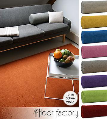Tappeto Moderno di Lana Loft 100% pura lana vergine in colori luminosi e moderni