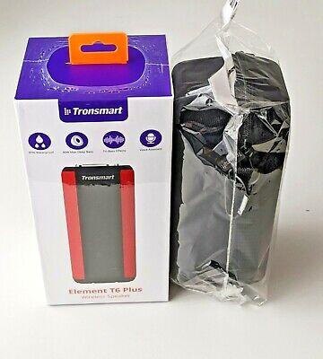 Altavoz Tronsmart T6 Plus ROJO con Estuche / Inalámbrico Bluetooth NUEVO
