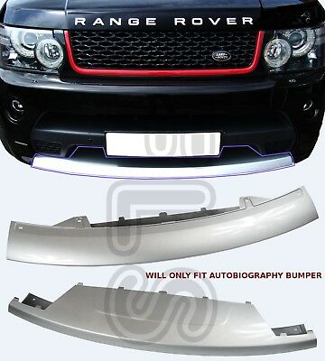 AUTOBIOGRAPHY FRONT BUMPER COVER SPLITTER SPOILER FOR RANGE ROVER SPORT 10-13