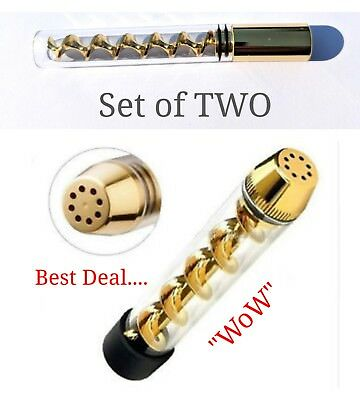 7pipe Regular And Mini Set Of Two Authentic Us Seller - Gold