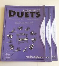 My favourite Duets Alto Sax books 1,2,3 Klemzig Port Adelaide Area Preview