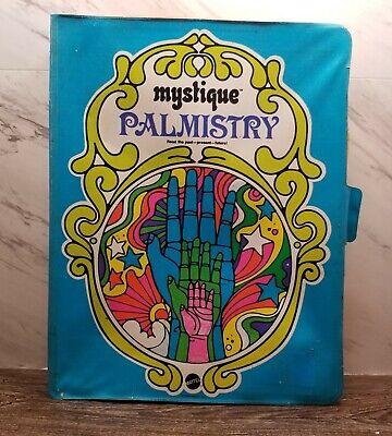RARE 1969 MATTEL MYSTIQUE PALMISTRY FORTUNETELLING GAME