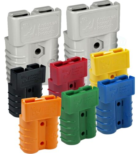 50 Amps Anderson SB50® Connector, Grey, Black, Red, Yellow 6,8,10-12 AWG