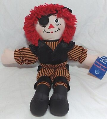 NEW 2002 Raggedy ANDY Halloween Pirate Costume Doll - 15