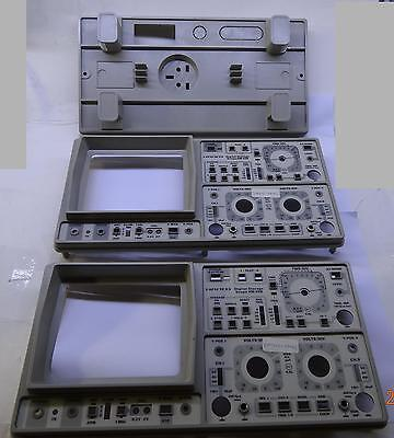 Front Rear Panel For Hameg Cro Oscilloscope 3pcs