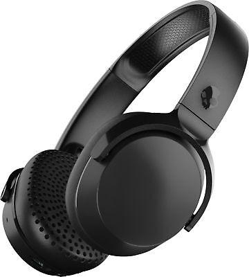 riff wireless on ear headphones black