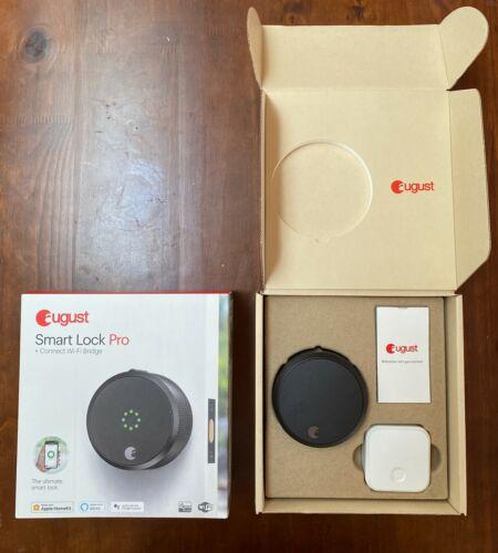 August Smart Lock Pro (3rd Gen) + Connect Hub - Zwave, Home Kit & Alexa Compatib