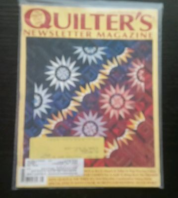 Monthly Hobby Magazine - 5 QUILTERS Newsletter Magazine Monthly issues hobbies & craft