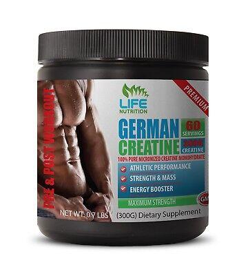 Creatine Alkaline - German Creapure® Creatine 300g - Better Performance
