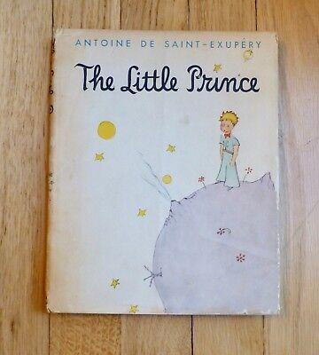 The Little Prince--Rare Vintage Book--Antoine De Saint-Exupery hc dj