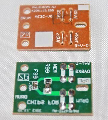 4 Reset Chips For Panasonic Kx-fat407 409, Kx-mb1500 Kx-m...