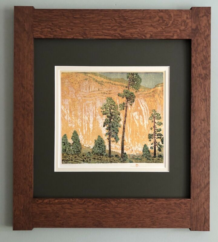 Mission Style Gustave Baumann Arts & Crafts Framed Print - Day of The Deer Dance