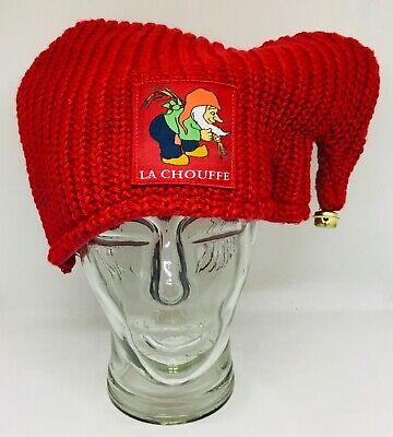La Chouffe bonnet à grelot de nain - dwarf bell  hat - zwerg glocke hut NEW