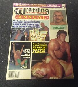 Pro wrestling illustrated magazine - FALL 1987