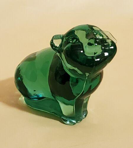 Fenton SEA MIST Green Pig – 1997 - MINT