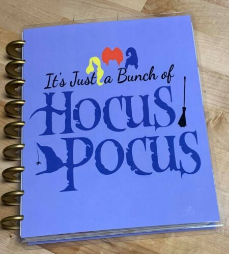Just a Bunch of Hocus Pocus Cover Set FOR USE with the Happy Planner