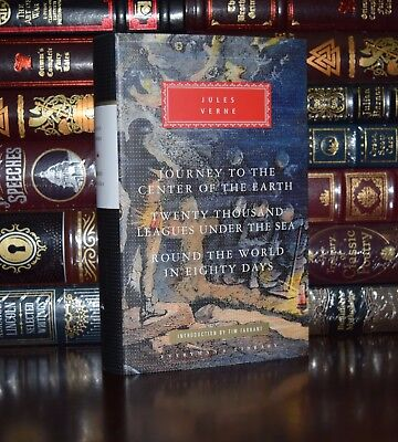 Novels by Jules Verne Center of Earth Leagues New Hardcover Deluxe Classics Gift