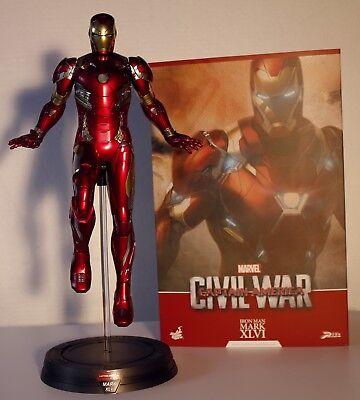 Hot Toys Iron Man Mark 46 XLVI  Civil War  scale 1/6 pps003