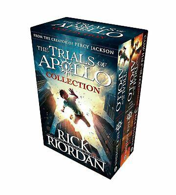 Trials of Apollo Dark Prophecy 3 Books Collection Box Set By Rick Riordan NEW