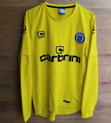 ROCHDALE A.F.C 2010 2011 HOME FOOTBALL SHIRT JERSEY CARBRINI SIZE M GOALKEEPER image