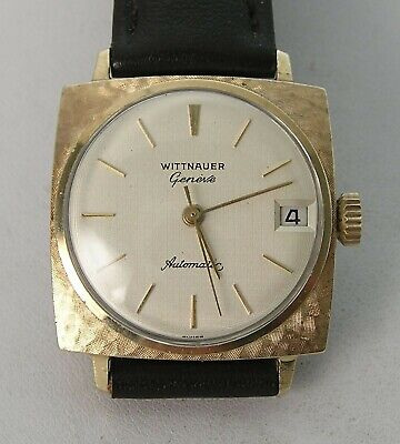 Classic 1950/60's Wittnauer Longines Square Automatic C11KAS Date Men's Watch
