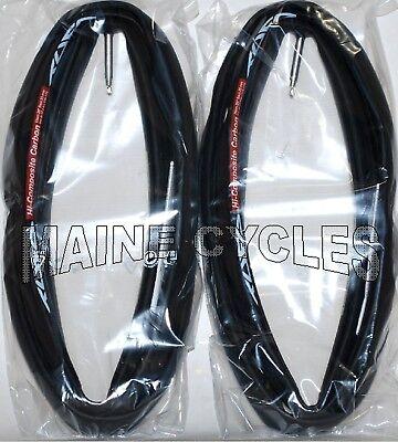 2 TWO BRAND NEW  Tufo ELITE S-3  TUBULAR Tires 700 X 25 Red//Black