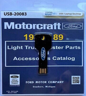 1980-89 Ford Truck Master Parts and Accessory Catalog (USB) Ford Truck Master Parts Catalog