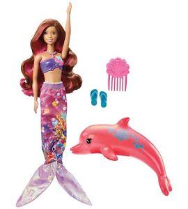 Barbie Dolphin Magic Transforming Mermaid Doll.
