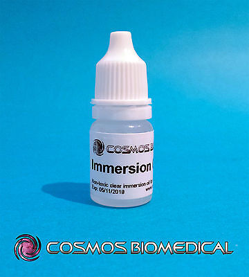 Immersion Oil for Microscopes -  5ml (non-toxic)