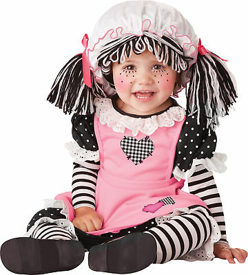 Baby Doll Infant Cutest Little Child Costumes Bloomers With Attached Leggings