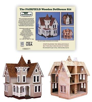The Fairfield Dollhouse Kit by Greenleaf  Dollhouses