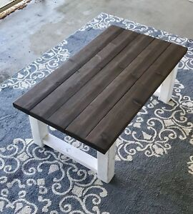 Coffee Table (White  & Expresso)