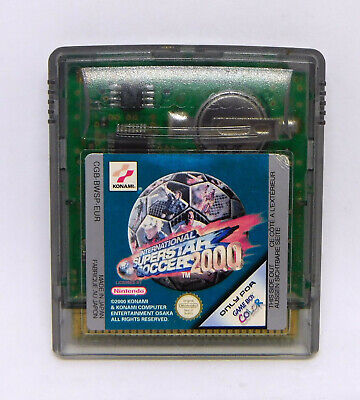 International Superstar Soccer 2000 - Nintendo Game Boy color GBA - CGB-BWSP-EUR