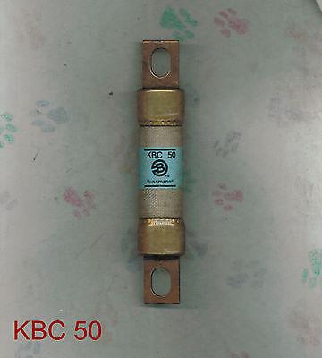New Tron Kbc50 Kbc 50 Amp 600 Volt Fuse Bussmann
