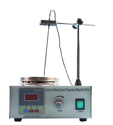 Brand New 1 Pc Magnetic Stirrer 1l Max Mixer Capacity Laboratory Magnetic Stirre