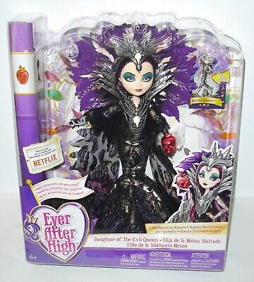 """EVER AFTER HIGH TOYS""""R""""US TRU EXCLUSIVE SDCC STYLE SPELLBINDING RAVEN QUEEN DOLL"""
