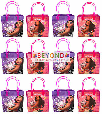 Disney Movie Moana Pua Birthday Party Favors Goody Loot Gift Candy Bags Assorted (Movie Party)