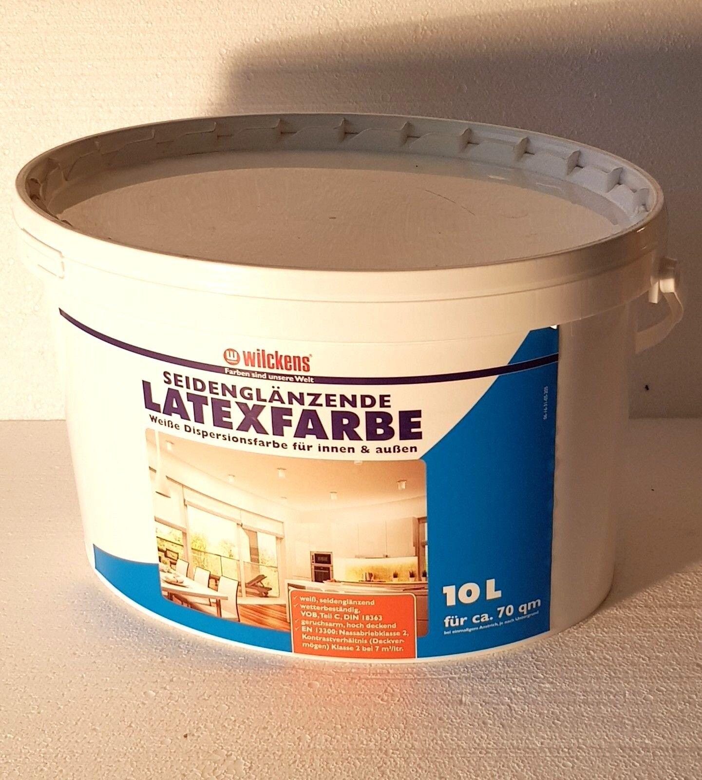 Купить wilckens latexfarbe seidenglanz abwaschbar dispersionsfarbe