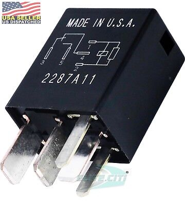 Omron G8he-1c7t-r1-dc12 Dc 40a 12v High Current Automotive Relay
