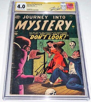 Journey Into Mystery #2 CGC SS Signature Autograph STAN LEE Pre Code Horror RARE
