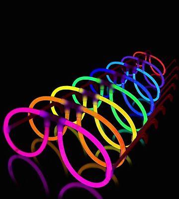 Lumistick Aviator Glow Eyeglasses - Glowstick Pack With Eyeglases Connectors ... - Glow Eyeglasses