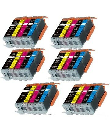 30-Pack/Pk Ink Combo for Canon PGI-250 CLI-251 Pixma iX6820
