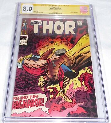 Thor #157 CGC SS Signature Autograph STAN LEE Mangog Appearance Comic Signed WOW