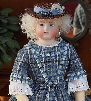 Huret Enfantine Doll Dress Pattern - No. A17001